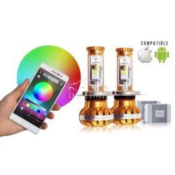 Kit LEDS Connecté H4